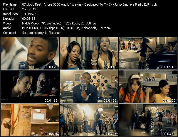 Lloyd Feat. Andre 3000 And Lil' Wayne video screenshot