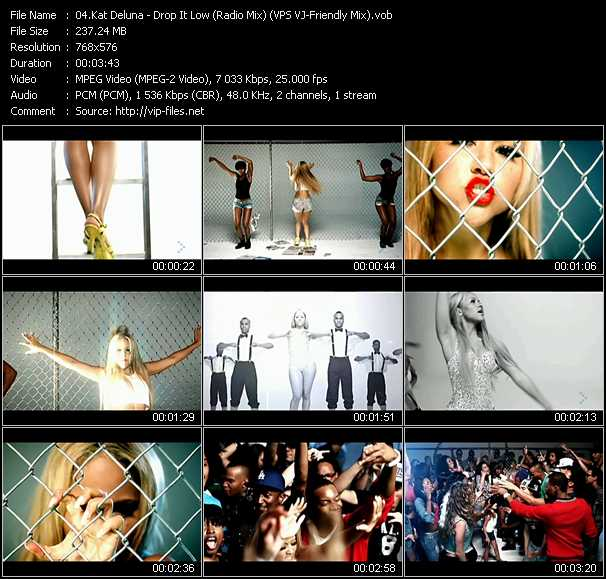 Kat Deluna video screenshot