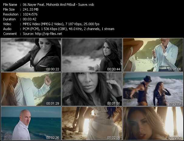 Nayer Feat. Pitbull And Mohombi video screenshot