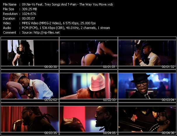 Ne-Yo Feat. Trey Songz And T-Pain video screenshot