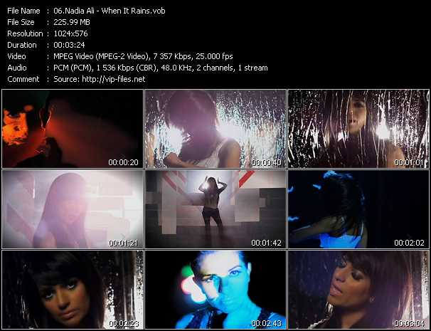 Nadia Ali video screenshot