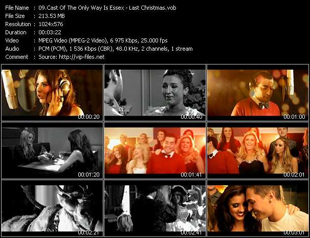 Cast Of The Only Way Is Essex video screenshot