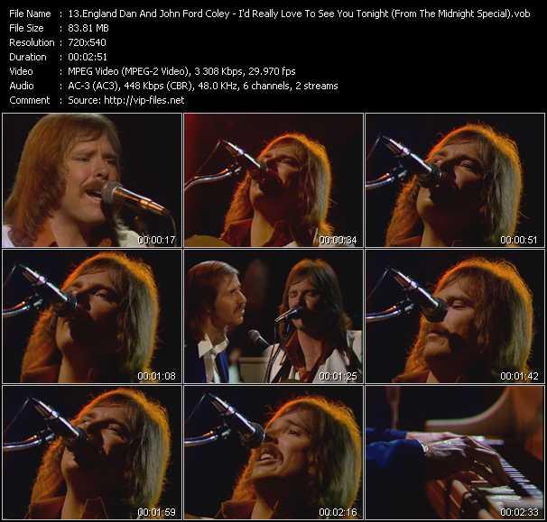 England Dan And John Ford Coley video screenshot