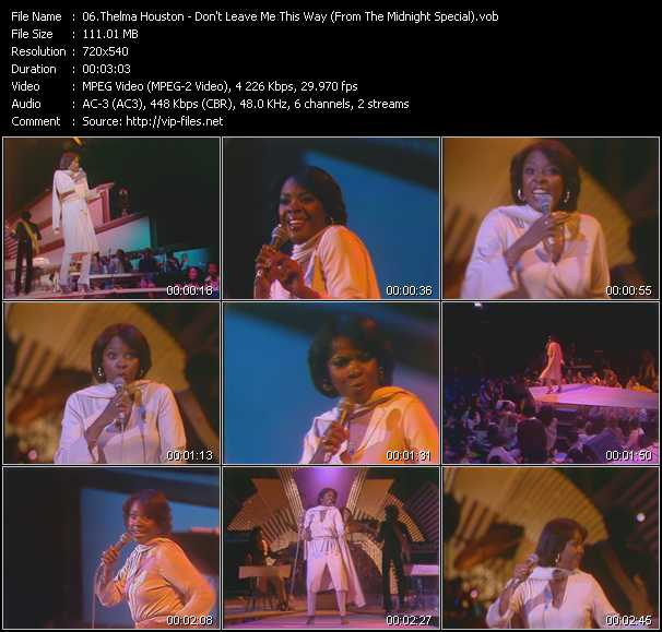 Thelma Houston video screenshot