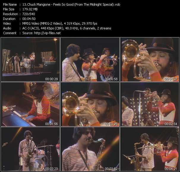 Chuck Mangione video screenshot