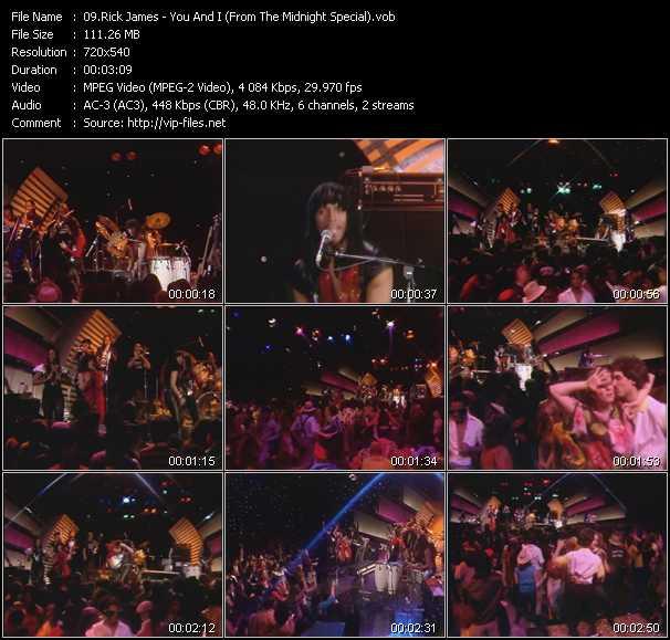Rick James video screenshot
