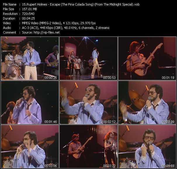 Rupert Holmes video screenshot