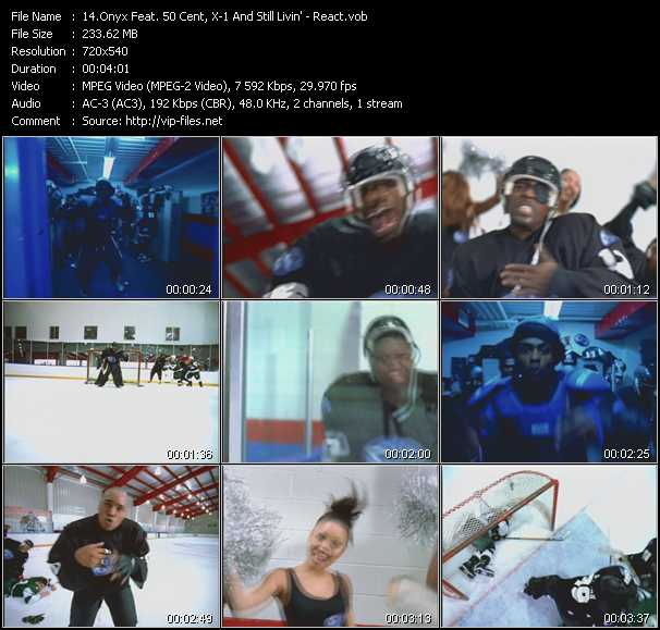 Onyx Feat. 50 Cent, X-1 And Still Livin' video screenshot