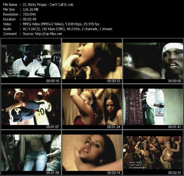 Sticky Fingaz video screenshot
