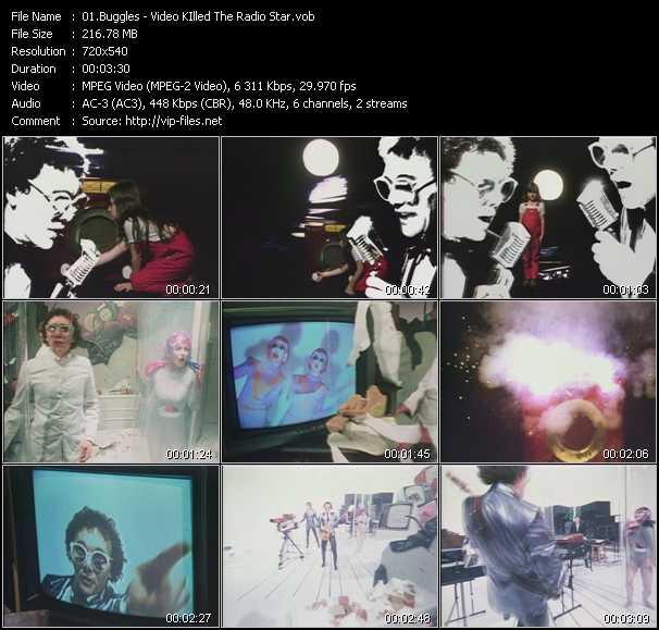 Buggles video screenshot