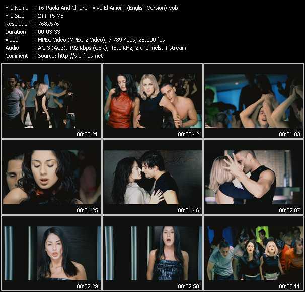 Paola And Chiara video screenshot