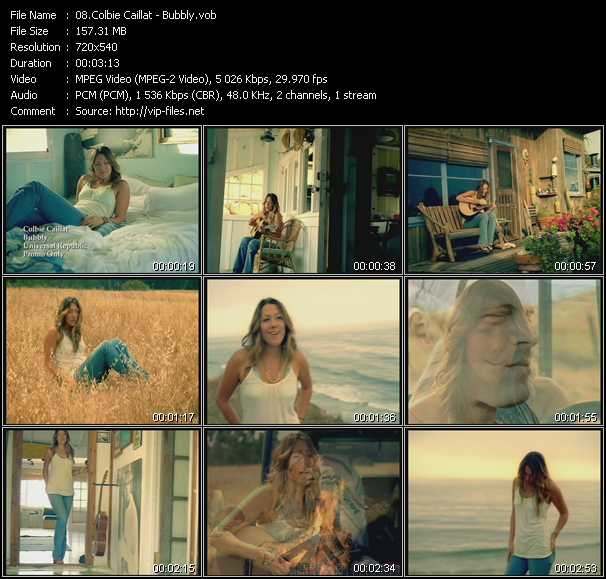 Colbie Caillat video screenshot