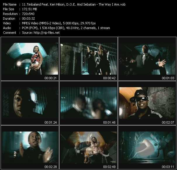 Timbaland Feat. Keri Hilson, D.O.E. And Sebatian video screenshot