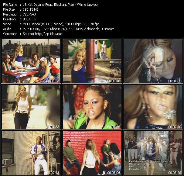Kat DeLuna Feat. Elephant Man video screenshot