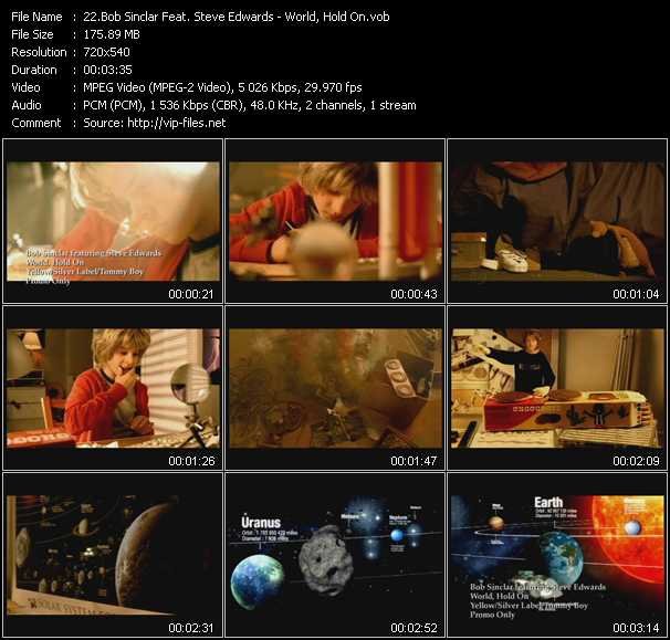 Bob Sinclar Feat. Steve Edwards video screenshot