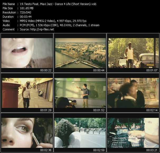 Tiesto Feat. Maxi Jazz video screenshot