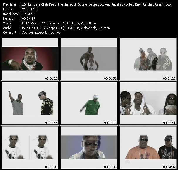 Hurricane Chris Feat. The Game, Lil' Boosie, Baby, Angie Locc (Lava House) And Jadakiss video screenshot