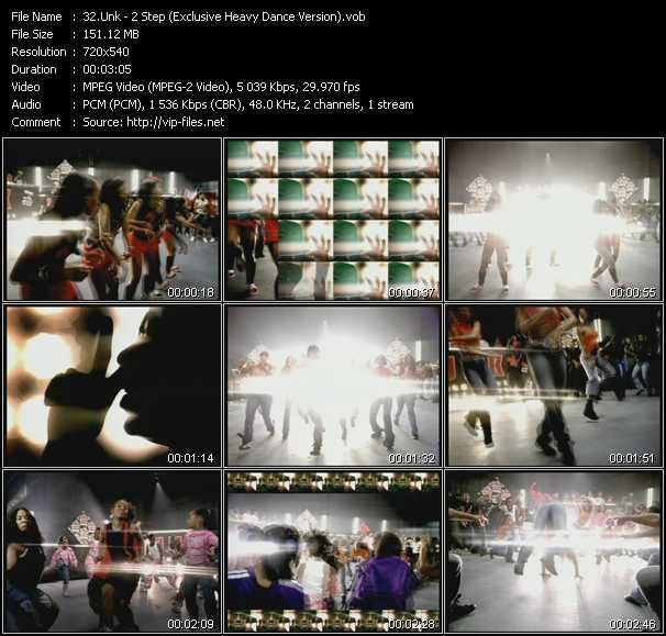 Unk video screenshot