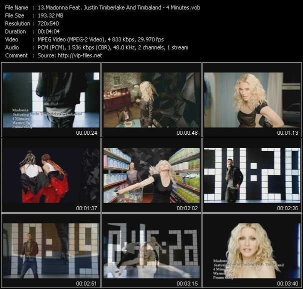 video 4 Minutes screen