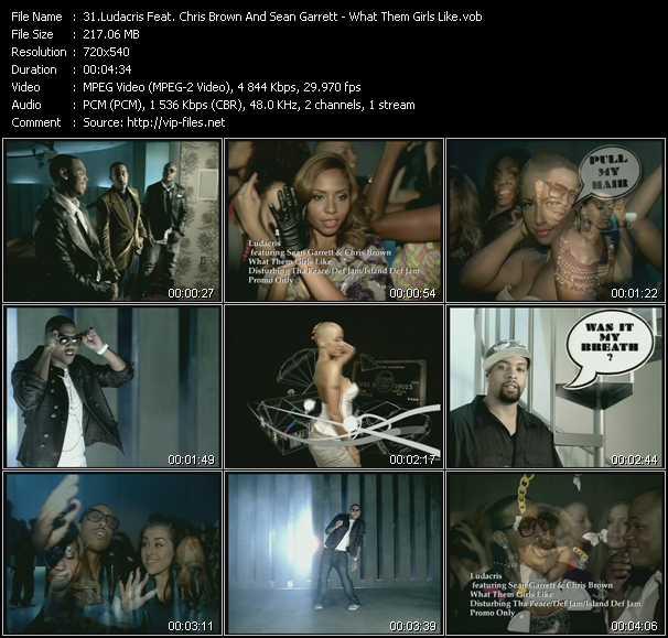 Ludacris Feat. Chris Brown And Sean Garrett video screenshot
