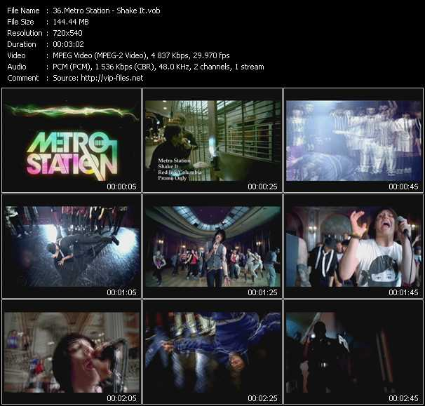 Metro Station video screenshot