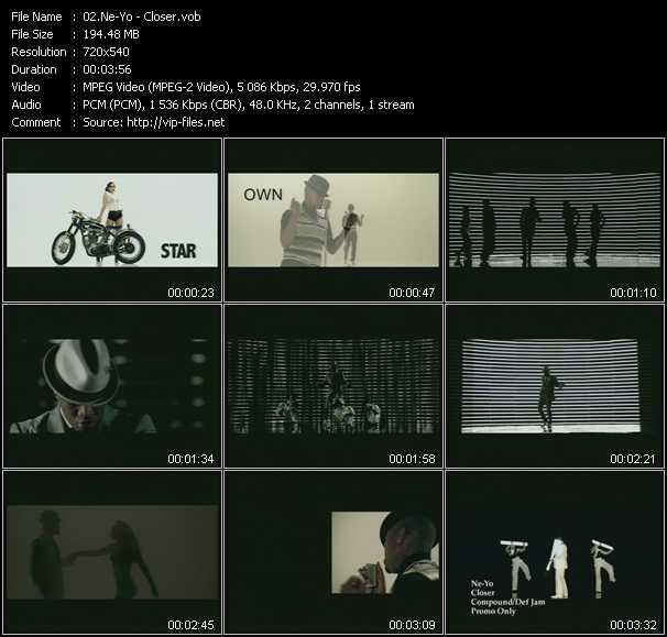 video Closer screen