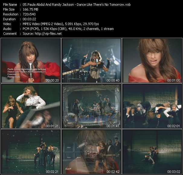 Paula Abdul And Randy Jackson video screenshot