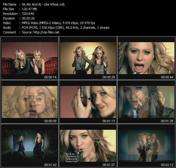 Aly And Aj video screenshot