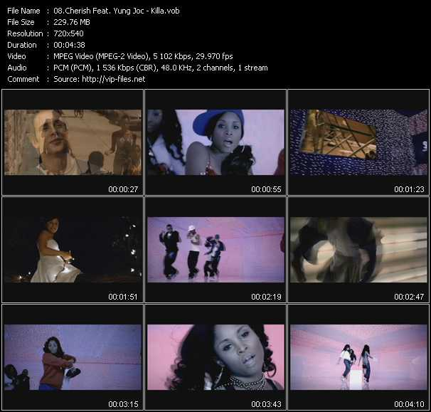 Cherish Feat. Yung Joc video screenshot