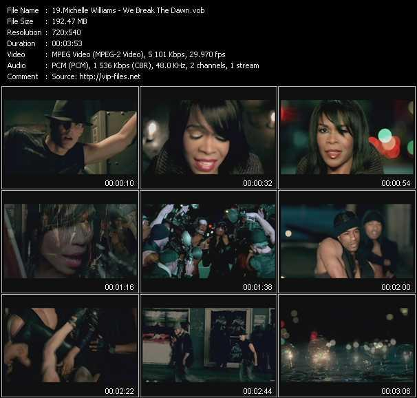 Michelle Williams video screenshot