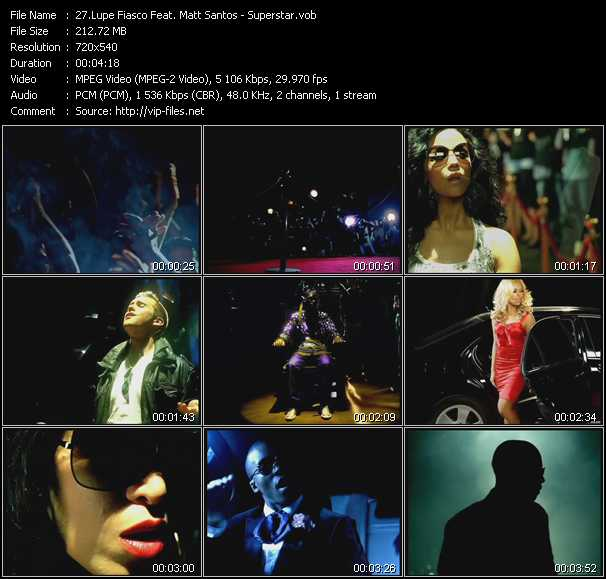 Lupe Fiasco Feat. Matt Santos video screenshot