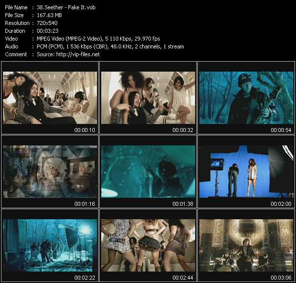 Seether video screenshot