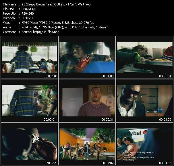 Sleepy Brown Feat. Outkast video screenshot