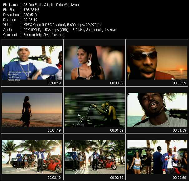 Joe Feat. G-Unit video screenshot