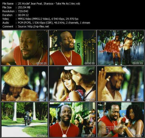 Wyclef Jean Feat. Sharissa video screenshot