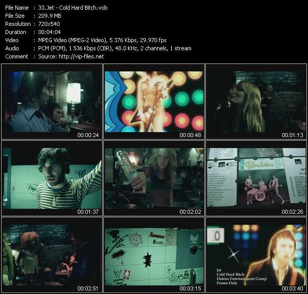Jet video screenshot