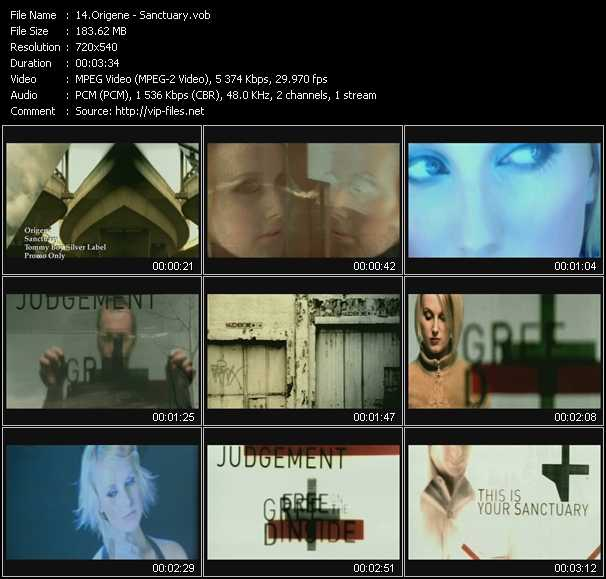 Origene video screenshot