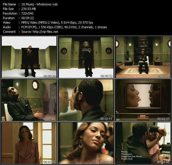 Musiq video screenshot