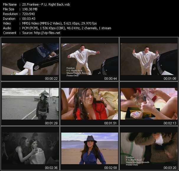 Frankee video screenshot