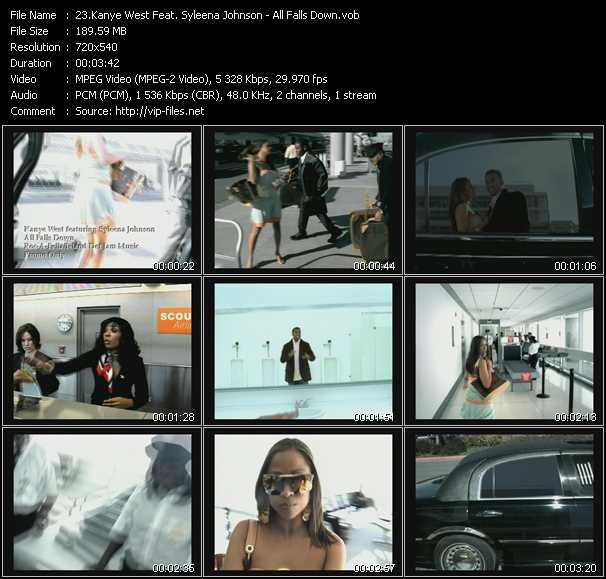 Kanye West Feat. Syleena Johnson video screenshot