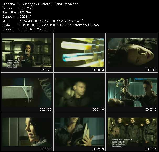 Liberty X Vs. Richard X video screenshot