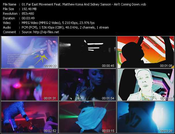 Far East Movement Feat. Matthew Koma And Sidney Samson video screenshot