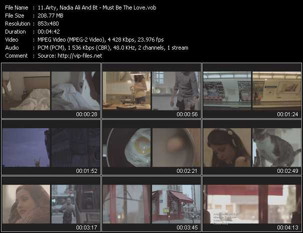 Arty, Nadia Ali And Bt video screenshot