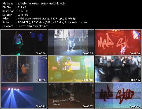 Baby Anne Feat. D-Bo video screenshot