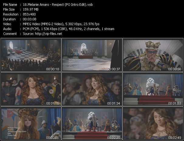 Melanie Amaro video screenshot