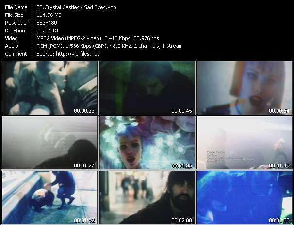Crystal Castles video screenshot
