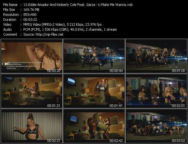 Eddie Amador And Kimberly Cole Feat. Garza video screenshot