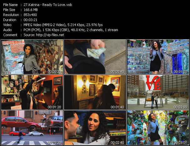 Katrina video screenshot