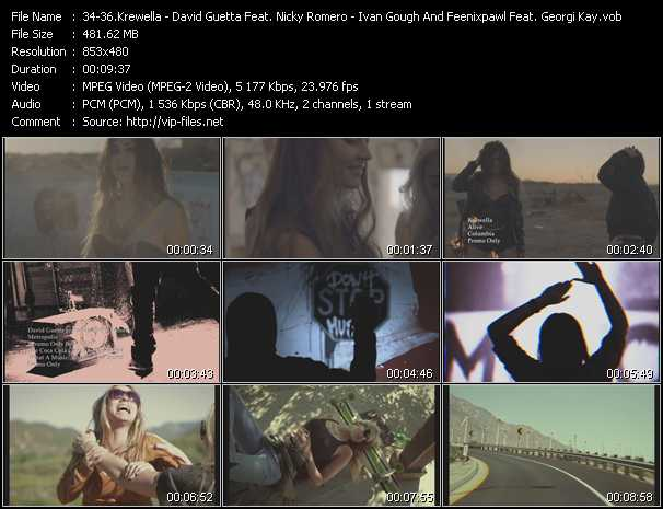 Krewella - David Guetta Feat. Nicky Romero - Ivan Gough And Feenixpawl Feat. Georgi Kay video screenshot