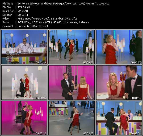Renee Zellweger And Ewen McGregor (Down With Love) video screenshot